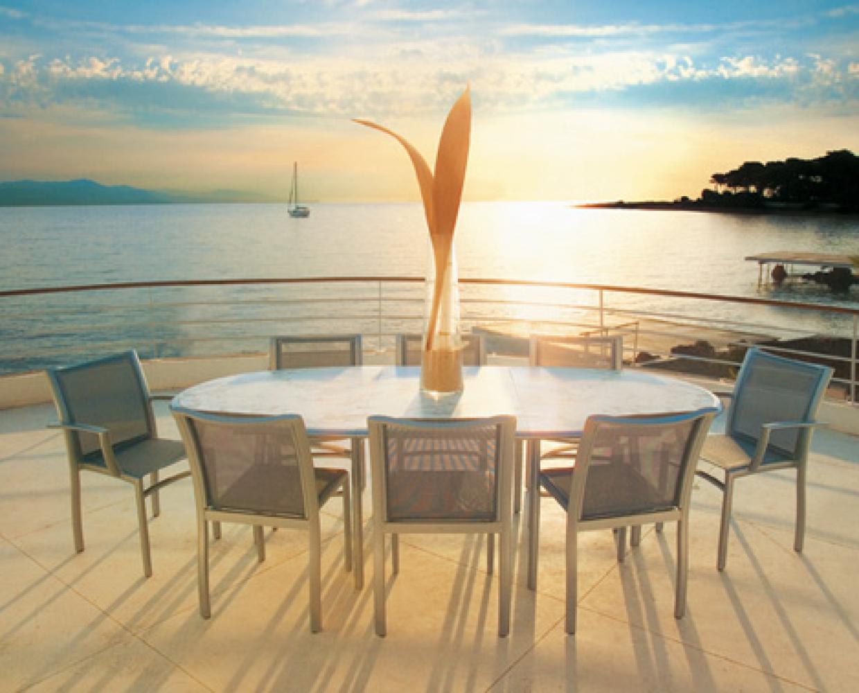 Table repas ovale avec allonge+chaises Premiere BD_EGO Paris