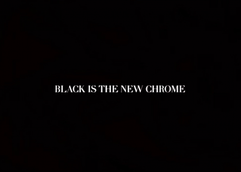 black is the new Chrome